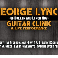 GEORGE LYNCH ESP GUITAR CLINIC and LIVE PERFORMANCE at Go DPS Music on Friday March 27, 2015