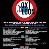 WIN VIP TICKETS TO THE OBSERVATORY TONIGHT!!  THE OX AND THE LOON - A TRIBUTE TO KEITH MOON AND JOHN ENTWISTLE