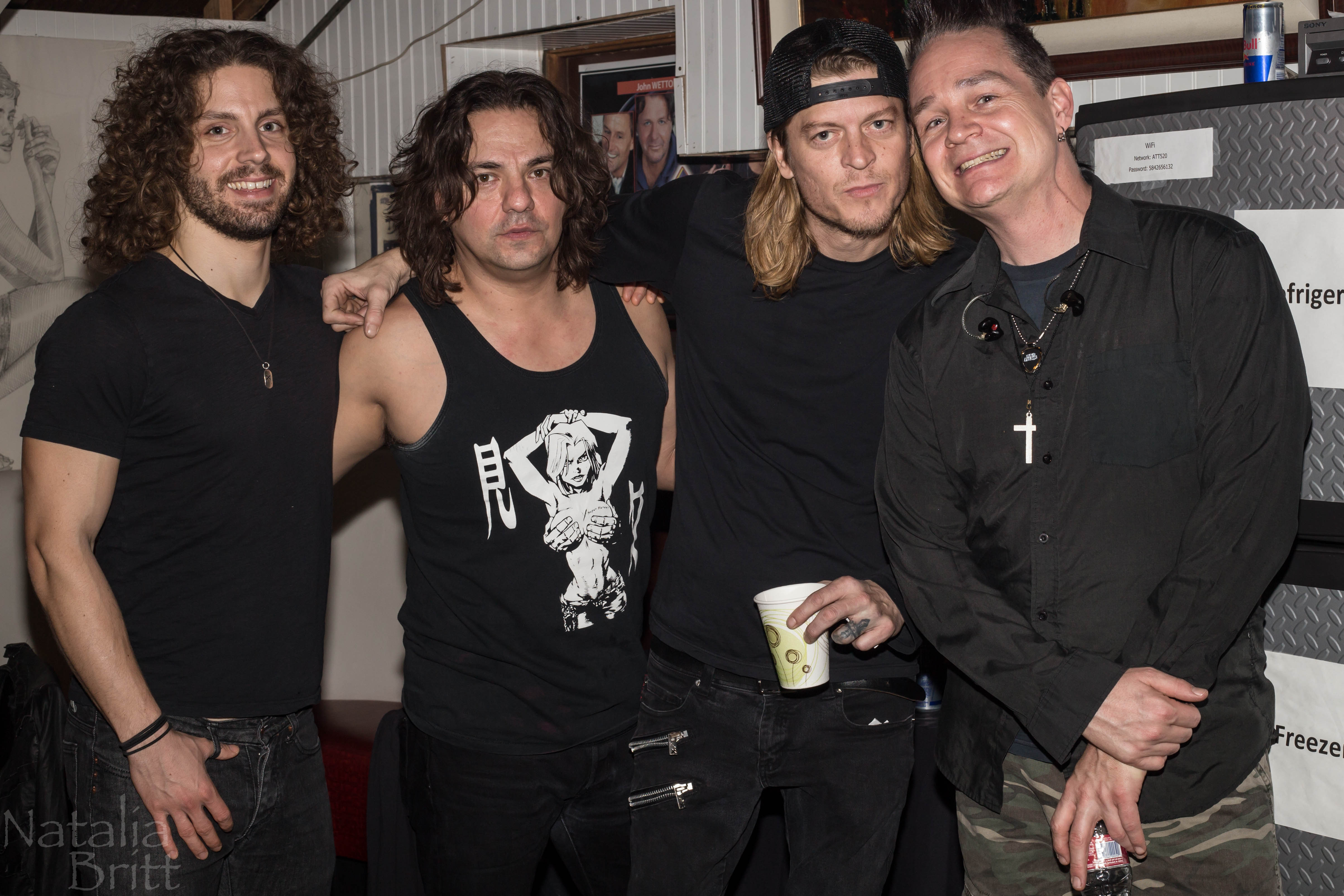 Puddle Of Mudd Headlines Friday Night at The Canyon Club Agoura