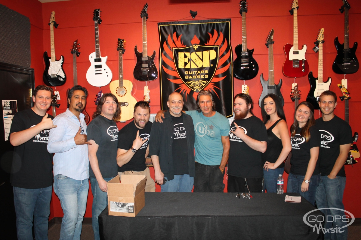 GEORGE LYNCH ESP GUITAR CLINIC GO DPS MUSIC FRIDAY 3/27/2015