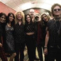 Original Guns N' Roses Drummer Steven Adler Debuts Fine Artwork Collection at Forgotten Saints L.A.