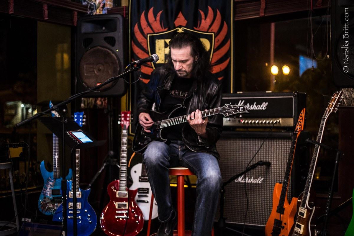 ESP HALL OF FAME GUITARIST BRUCE KULICK INTERVIEW and MASTER CLASS in CAMARILLO, CA