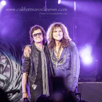 WHITESNAKE: Glenn Hughes Joins David Coverdale in Beverly Hills For Deep Purple Classics at THE SABAN THEATER  6/9/2015