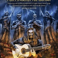 "Heavy Metal Flamenco Guitar Pioneer BEN WOODS Releases Guitar Instructional Book ""METAL CLASSICS For FINGERSTYLE GUITAR"""