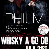 DAVE LOMBARDO INTERVIEW at PHILM show Plus Performance Footage from The WHISKY 7/21/2015