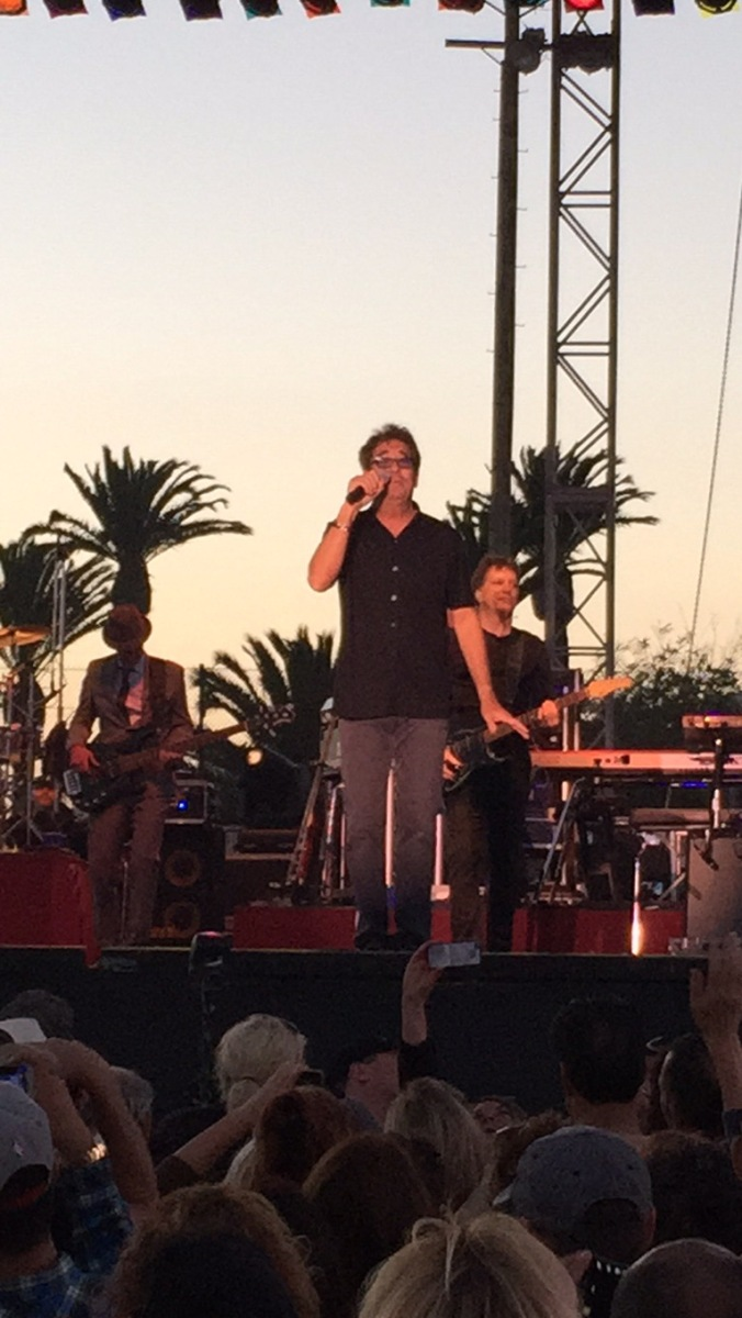 Huey Lewis and the News – Ventura, County Fair, Ventura, CA 8/7/15