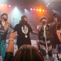 STEEL PANTHER AND FRIENDS CLOSED DOWN THE HOUSE OF BLUES SUNSET 8/3/2015