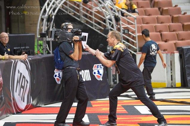 Phil Hulett - LA KISS and ANAHEIM DUCKS, announcer