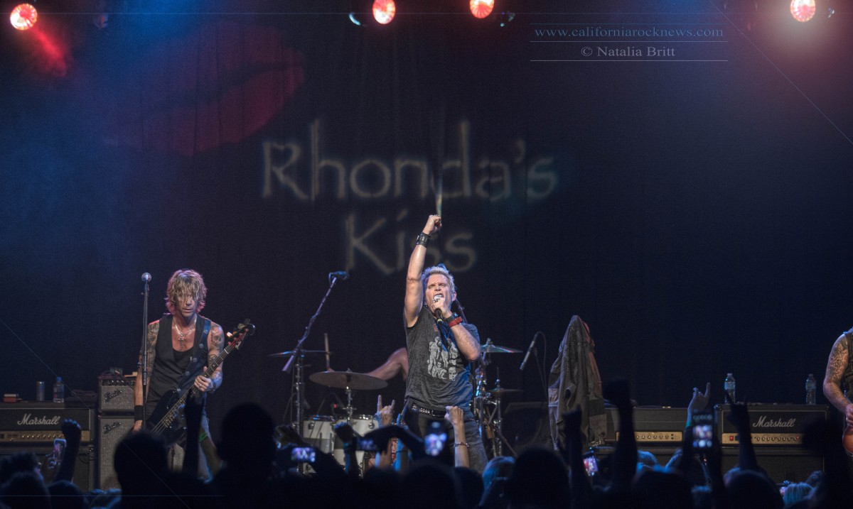 Rhonda's Kiss All-Star Benefit Concert featuring Dave Navarro, Duff McKagan, Juliette Lewis, Billy Idol and Surprise Appearance By Billy Gibbons  11/03/2015