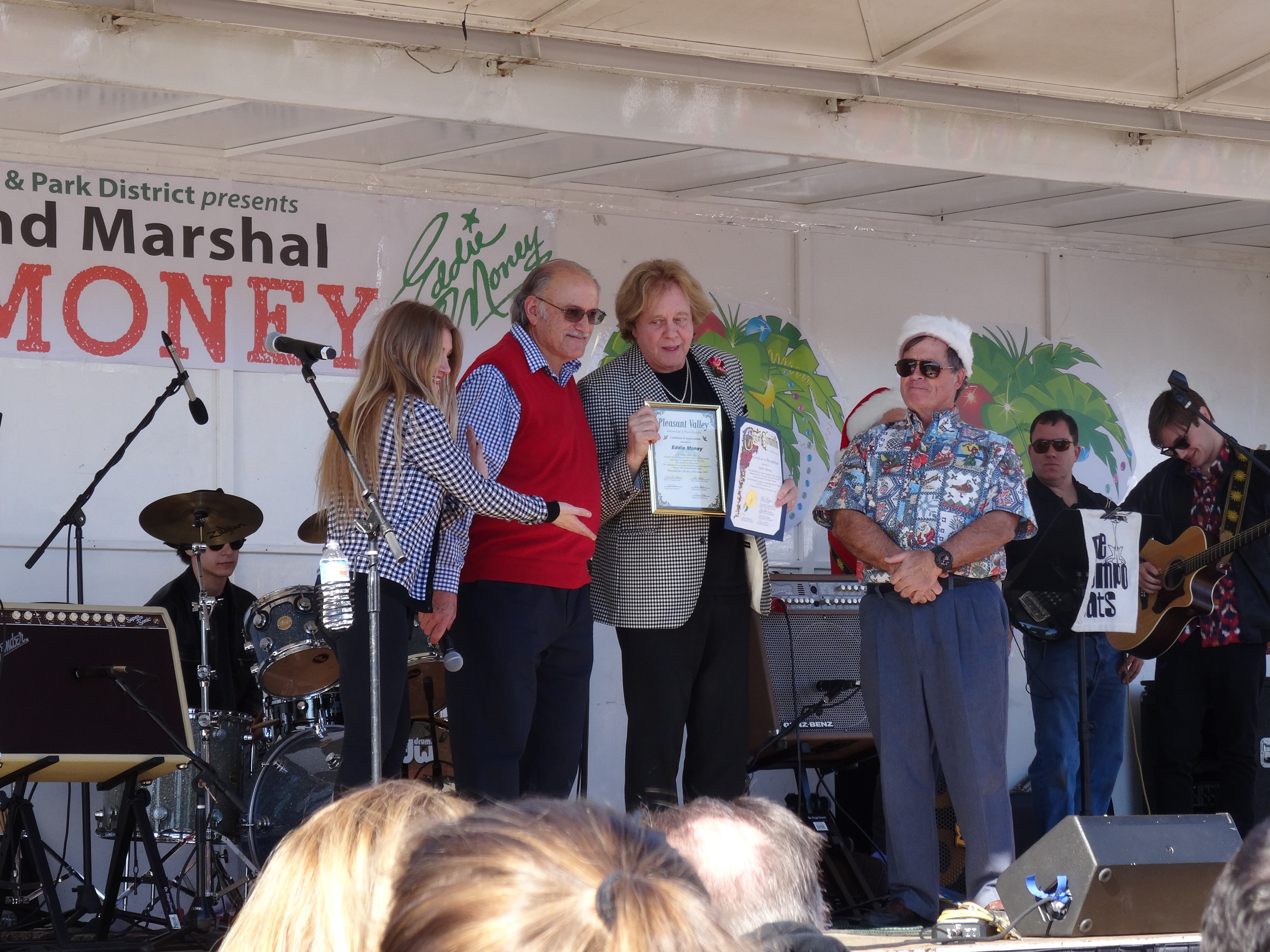 EDDIE MONEY 54th Grand Marshal of the Camarillo Christmas Parade ...