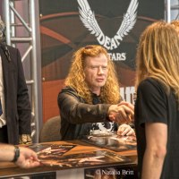 Dave Mustaine appearance at Dean Guitars - NAMM 2016 - Sunday 1/24/16
