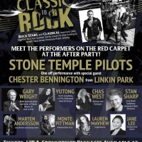 "Stone Temple Pilots one off performance with special guest Chester Bennington from Linkin Park at Benefit Show ""From Classic to Rock"""
