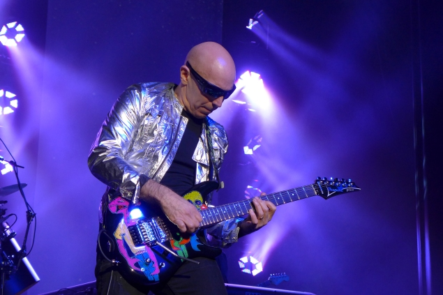 Joe satriani from surfing to shockwave tour california rock news having seen joe satriani perform live approximately 50 times and never having missed a tour since 1997 i was very pleased to see four performances m4hsunfo