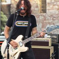 DAVE GROHL Guested with Chevy Metal at Conejo Valley Days in Thousand Oaks, CA