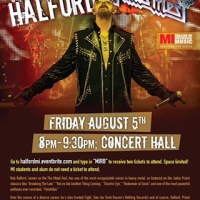 "Rob Halford Musicians Institute Conversation Series with ""The Metal God""  Hollywood 8/5/2016"
