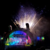 ELO FIREWORKS at THE HOLLYWOOD BOWL