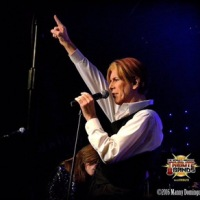 David Bowie Tribute AXS TV's THE WORLD'S GREATEST TRIBUTE BANDS Hosted by Katie Daryl at the Whisky a Go Go David Brighton's Space Oddity 9/21/2016