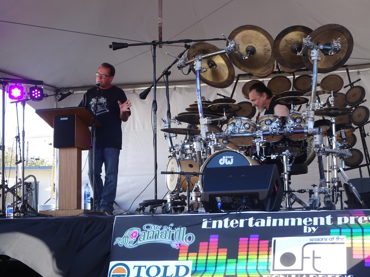 "Terry Bozzio and Todd Griese ""A Journey Along Spiritual Lines"" Arts Alive Festival Studio Channel Islands Camarillo 5/27/2017"