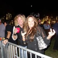 MELISSA KANTOR of The Rockin Edge and RICK HUNTER at 10th ANNIVERSARY Medlock Krieger Allstar Concert for St Jude Children's Research Hospital 8/2017