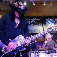 Robert Sarzo and Hurricane Interviews and Live Performances Chromacast Sawtooth Clinic at GoDpsMusic 9/8/2017