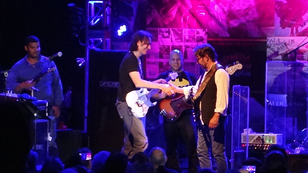 AL Di MEOLA with Special Guest STEVE VAI at The Canyon Club 9/15/2017