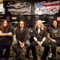 Resurrection Kings Interview with Vinny Appice, Craig Goldy, Sean McNabb, Chas West  and Live Performance at GoDpsMusic Friday The 13th 10/13/2017