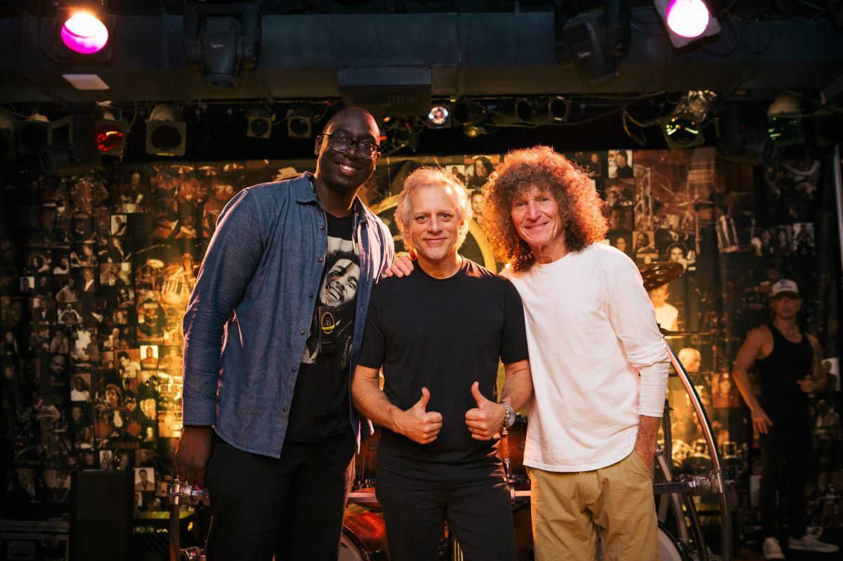 Larnell Lewis (Snarky Puppy), Dave Weckl, Tommy Aldridge (Whitesnake, Ozzy Osbourne) at Yamaha Drums 50th Anniversary Celebration with All-Star Drummer Lineup MI, Hollywood