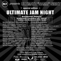 ULTIMATE JAM NIGHT Lineup Announced for the Anaheim Hilton During NAMM Kotzen, Skolnick, Carmine Appice, Don Dokken, Mark Wood and More To Perform