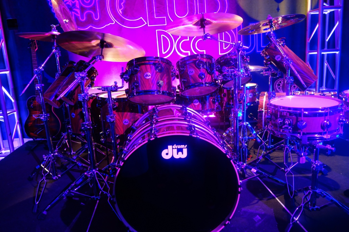 DW Drum Workshop at NAMM Anaheim, CA 2018