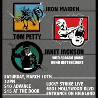 Carl Restivo Previews Paramount Academy Of Music's Matinee Show (Music of Iron Maiden, Tom Petty and Janet Jackson) Tomorrow at Lucky Strike Live Featuring A Guest Appearance by Nuno Bettencourt  3/10/2018