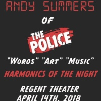 GUITAR LEGEND ‪ANDY SUMMERS‬ ANNOUNCES LIVE DATES FOR LOS ANGELES AND SAN FRANCISCO