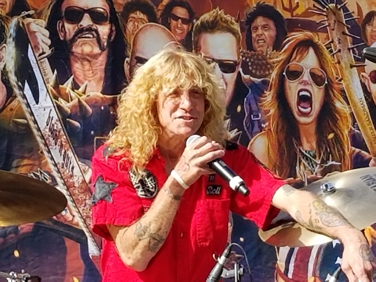 "STEVEN ADLER ALL STARS ADLER'S APPETITE  4TH ANNUAL ""RIDE FOR RONNIE"" MOTORCYCLE RALLY & CONCERT HOSTED BY EDDIE TRUNK AND MELISSA MAXX Sunday, May 6, 2018"