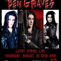 Remembering Ben Graves at Lucky Strike Live August 16, 2018