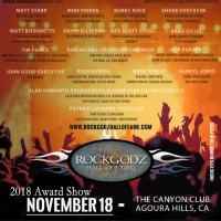 BOBBY ROCK Inducted Into RockGodz Hall of Fame Canyon Club Agoura Hills, CA 11/18/2018