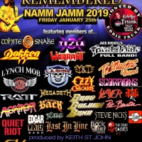RONNIE MONTROSE REMEMBERED: A NAMM 2019 ALL-STAR MEMORIAL CONCERT