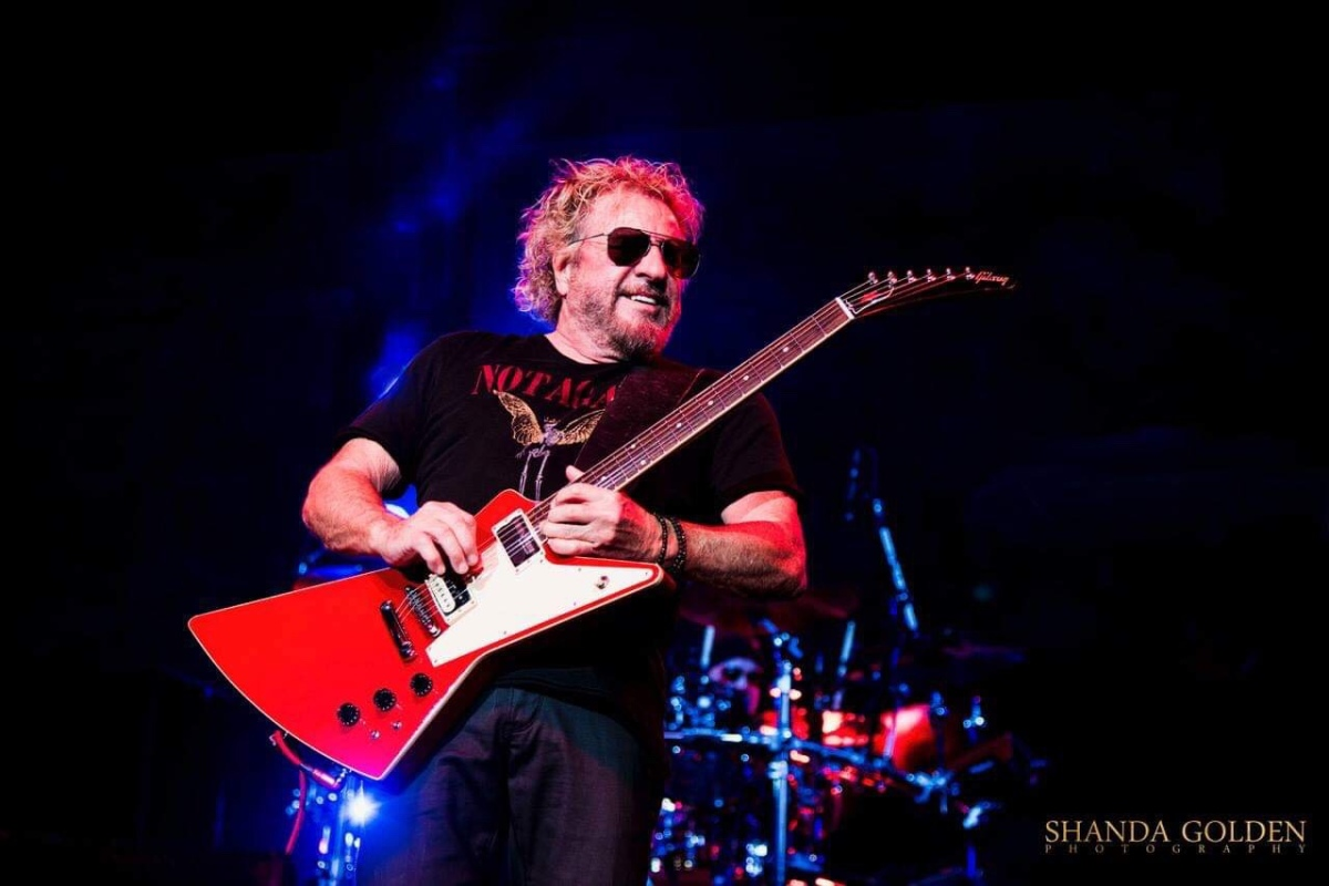 Sammy Hagar and The Circle with Michael Anthony Grand Sierra Resort Reno NV April 19th, 2019