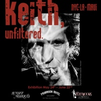 Morrison Hotel Gallery Rocks Out with the Rolling Stones  in the Exhibition Keith, Unfiltered