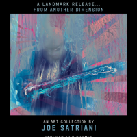 Joe Satriani to Release Artwork at SceneFour Guitar Art Gallery This Summer
