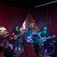 Tony MacAlpine at Universal Bar and Grill, Los Angeles, CA, USA The Electric Illusionist Tour 2020