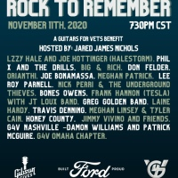 "Guitars For Vets and Gibson Gives Announce ""Rock To Remember"" Virtual Benefit Concert On Veteran's Day, Wednesday, November 11 at 7:30p CT/8:30p ET On Gibson Facebook and LiveXLive"