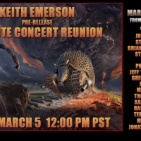 Keith Emerson Free Tribute Concert Reunion Livestream on Friday March 5 at 12PM Pacific/ 8 PM UK time
