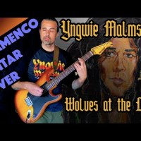 "Ben Woods' Same Day Cover of Yngwie Malmsteen's ""Wolves At The Door"""