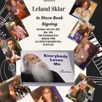 "Iconic Bassist Leland Sklar Live Book Signing for ""Everybody Loves Me"" 5/8/21 2-5 pm PT"