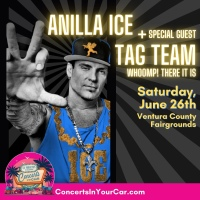 Vanilla Ice Takes the Stage at the Ventura County Fairgrounds With Special Guest Tag Team in July for Tequila & Tacos event