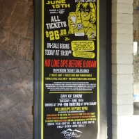 FOO FIGHTERS WARM UP SHOW ONSALE MORNING at THE CANYON CLUB AGOURA 6/13/2021