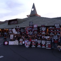 Protesters at The Foo Fighters Concert Agoura Hills 6/15/2021