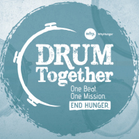 """WhyHunger All Star Drummer """"Drum Together"""" Official Video"""